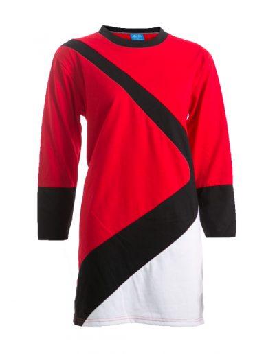JUTM5002(Red/Black/White)